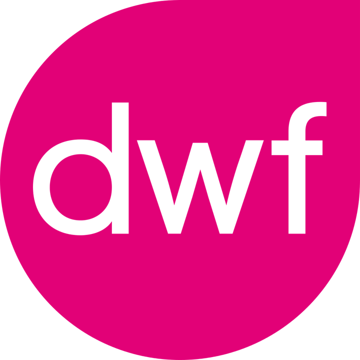 Logo DWF is a UK law firm using the IRISXtract Digital Mailroom Solution.